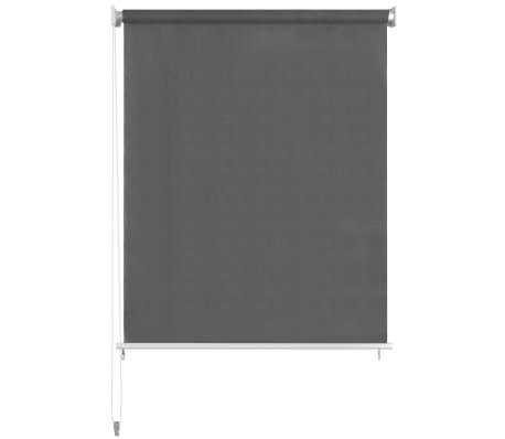 "vidaXL Outdoor Roller Blind 137.7""x55.1"" Anthracite[2/5]"