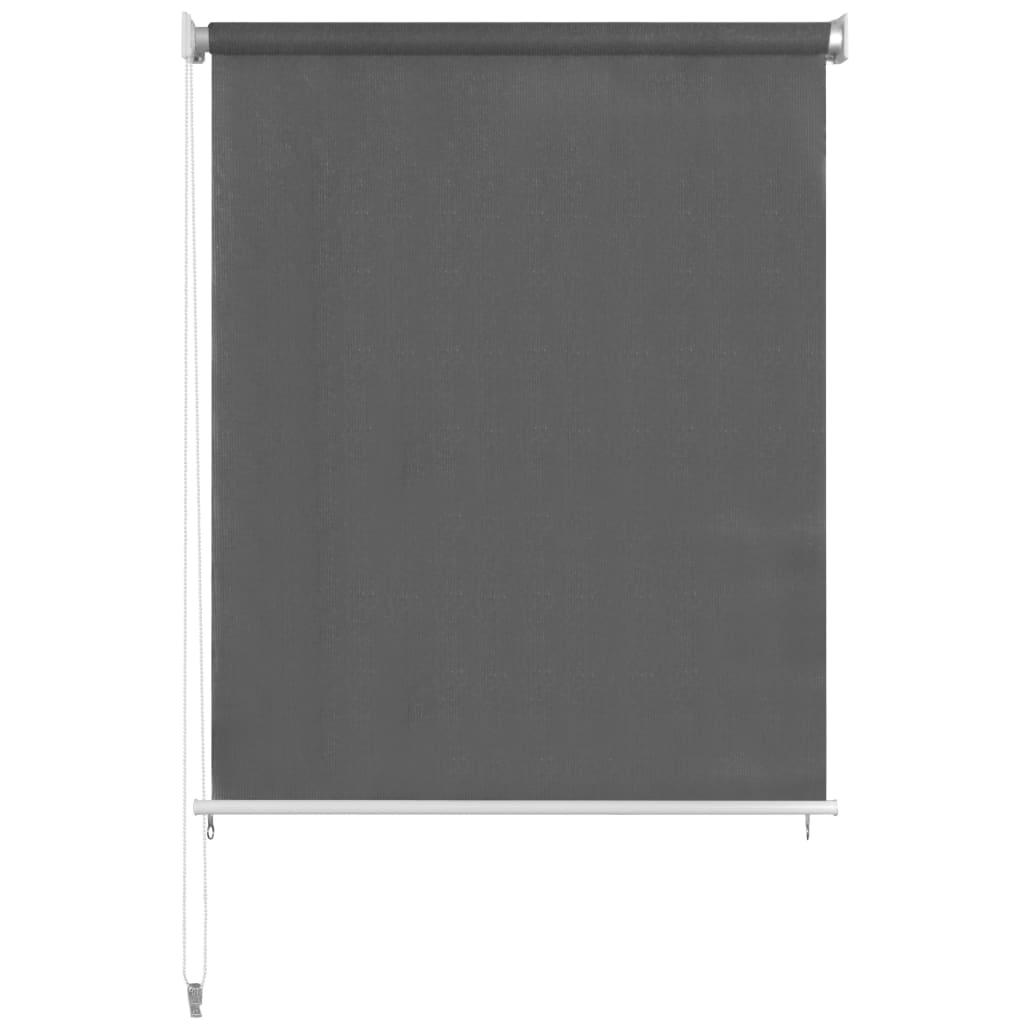 vidaXL Rolgordijn voor buiten 220x230 cm antraciet