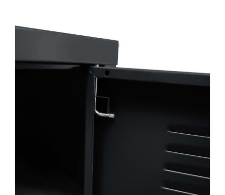 vidaXL Tv-meubel 118x40x60 cm zwart[8/9]