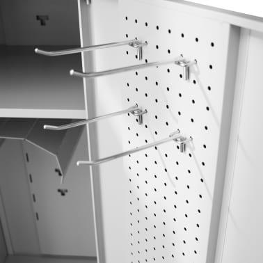 """vidaXL Saddle Cabinet 23.6""""x23.6""""x55.1""""[4/10]"""