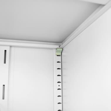 """vidaXL Saddle Cabinet 23.6""""x23.6""""x55.1""""[8/10]"""