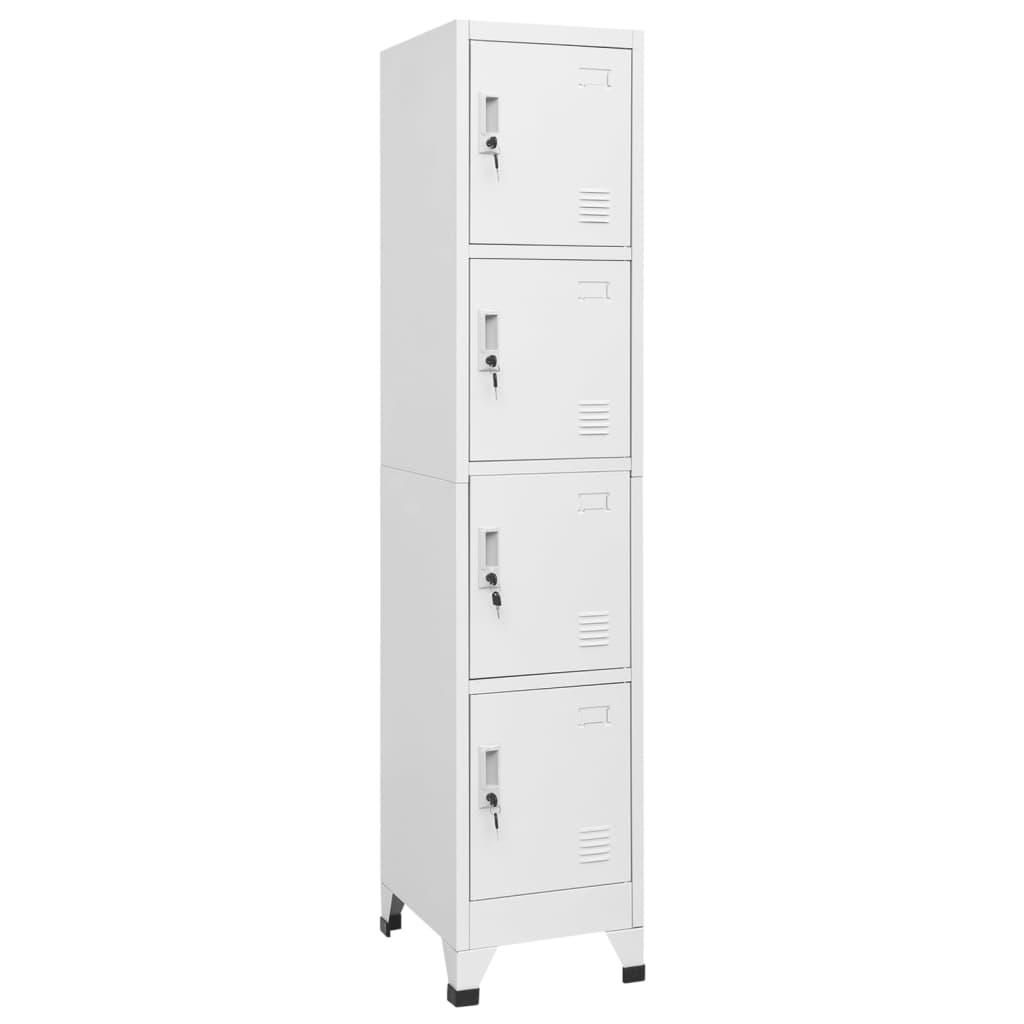 Šatní skříň se 4 přihrádkami, 38x45x180 cm