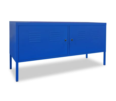 "vidaXL TV Cabinet 46.5""x15.7""x23.6"" Blue[1/9]"