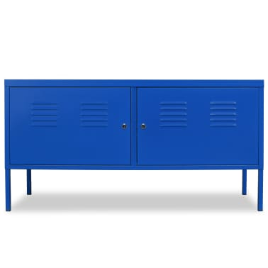 "vidaXL TV Cabinet 46.5""x15.7""x23.6"" Blue[2/9]"