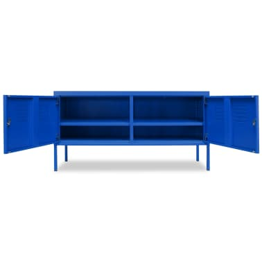 "vidaXL TV Cabinet 46.5""x15.7""x23.6"" Blue[4/9]"