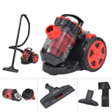 vidaXL Bagless Multi-Cyclone Vacuum Cleaner Floor Carpet Red