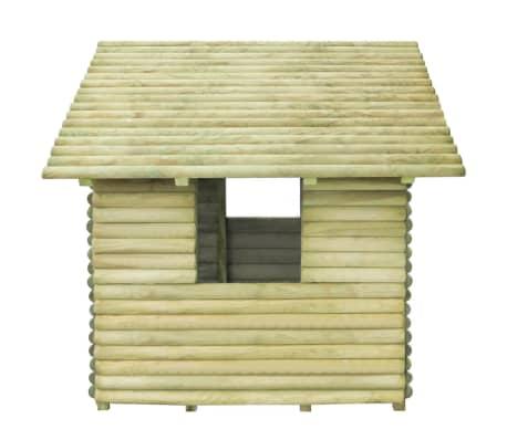 vidaXL Žaidimų namelis, FSC impregnuota pušies mediena, 167x150x151cm[3/4]