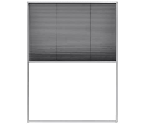 "vidaXL Plisse Insect Screen for Windows Aluminum 23.6""x31.5""[2/6]"