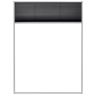 "vidaXL Plisse Insect Screen for Windows Aluminum 23.6""x31.5""[3/6]"