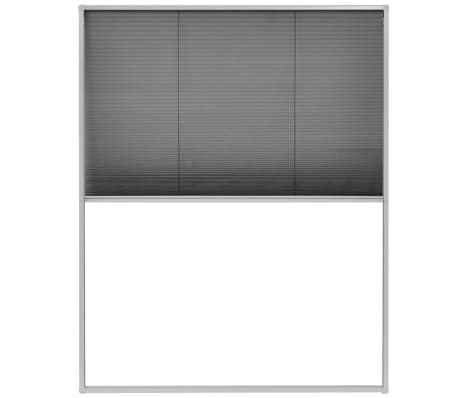 "vidaXL Plisse Insect Screen for Windows Aluminum 31.5""x39.4""[2/6]"