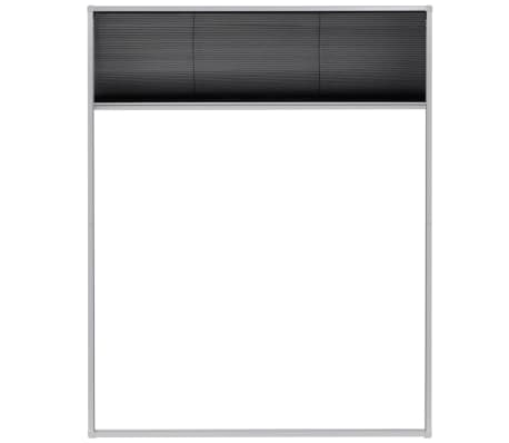 "vidaXL Plisse Insect Screen for Windows Aluminum 31.5""x39.4""[3/6]"