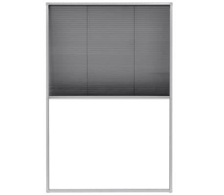 "vidaXL Plisse Insect Screen for Windows Aluminum 31.5""x47.2"""