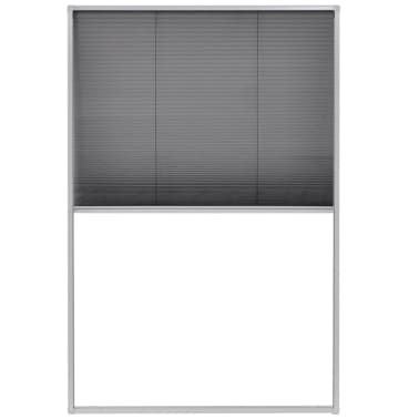 "vidaXL Plisse Insect Screen for Windows Aluminum 31.5""x47.2""[2/6]"