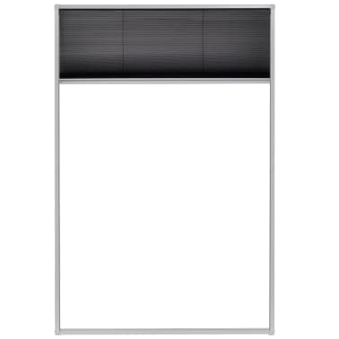 "vidaXL Plisse Insect Screen for Windows Aluminum 31.5""x47.2""[3/6]"