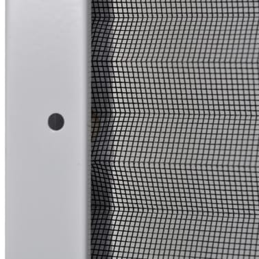 "vidaXL Plisse Insect Screen for Windows Aluminum 31.5""x47.2""[6/6]"