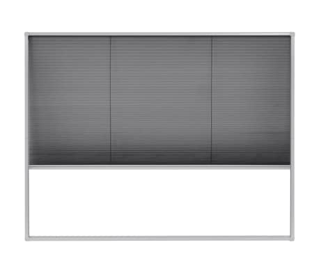 "vidaXL Plisse Insect Screen for Windows Aluminum 51.2""x39.4""[2/6]"
