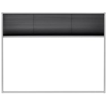 "vidaXL Plisse Insect Screen for Windows Aluminum 51.2""x39.4""[3/6]"