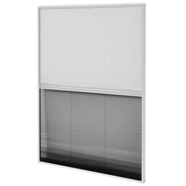 "vidaXL Plisse Insect Screen for Window Aluminum 31.5""x47.2"" with Shade[2/8]"