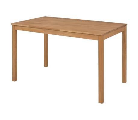 vidaXL Valgomojo komplektas, 4 dalys, perdirbta ąžuolo mediena[3/17]
