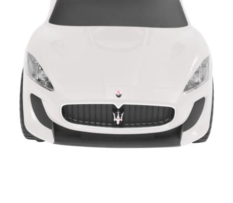 vidaXL Coche correpasillos Maserati 353 blanco[7/9]