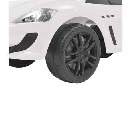 vidaXL Coche correpasillos Maserati 353 blanco[8/9]