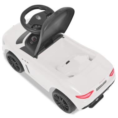 vidaXL Coche correpasillos Maserati 353 blanco[5/9]