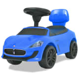 vidaXL Coche correpasillos Maserati 353 azul