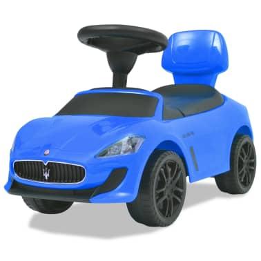 vidaXL Voiture à chevaucher Maserati 353 Bleu[1/9]