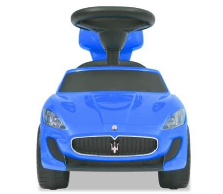vidaXL Coche correpasillos Maserati 353 azul[3/9]