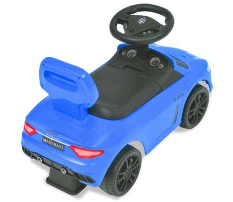 vidaXL Coche correpasillos Maserati 353 azul[4/9]