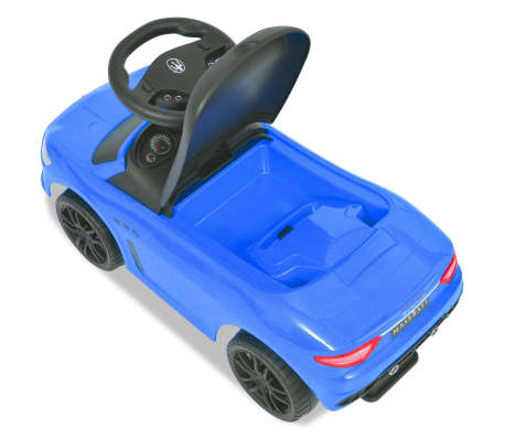vidaXL Coche correpasillos Maserati 353 azul[5/9]