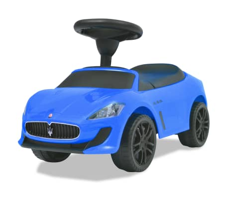 vidaXL Coche correpasillos Maserati 353 azul[6/9]