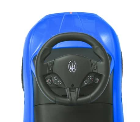 vidaXL Coche correpasillos Maserati 353 azul[9/9]
