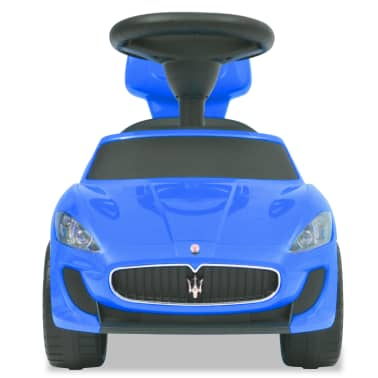 vidaXL Voiture à chevaucher Maserati 353 Bleu[3/9]