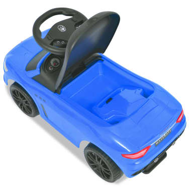 vidaXL Voiture à chevaucher Maserati 353 Bleu[5/9]