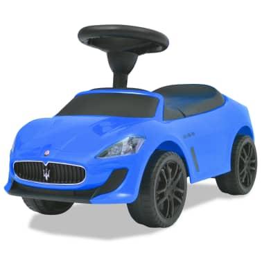 vidaXL Voiture à chevaucher Maserati 353 Bleu[6/9]