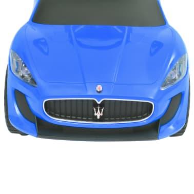 vidaXL Coche correpasillos Maserati 353 azul[7/9]