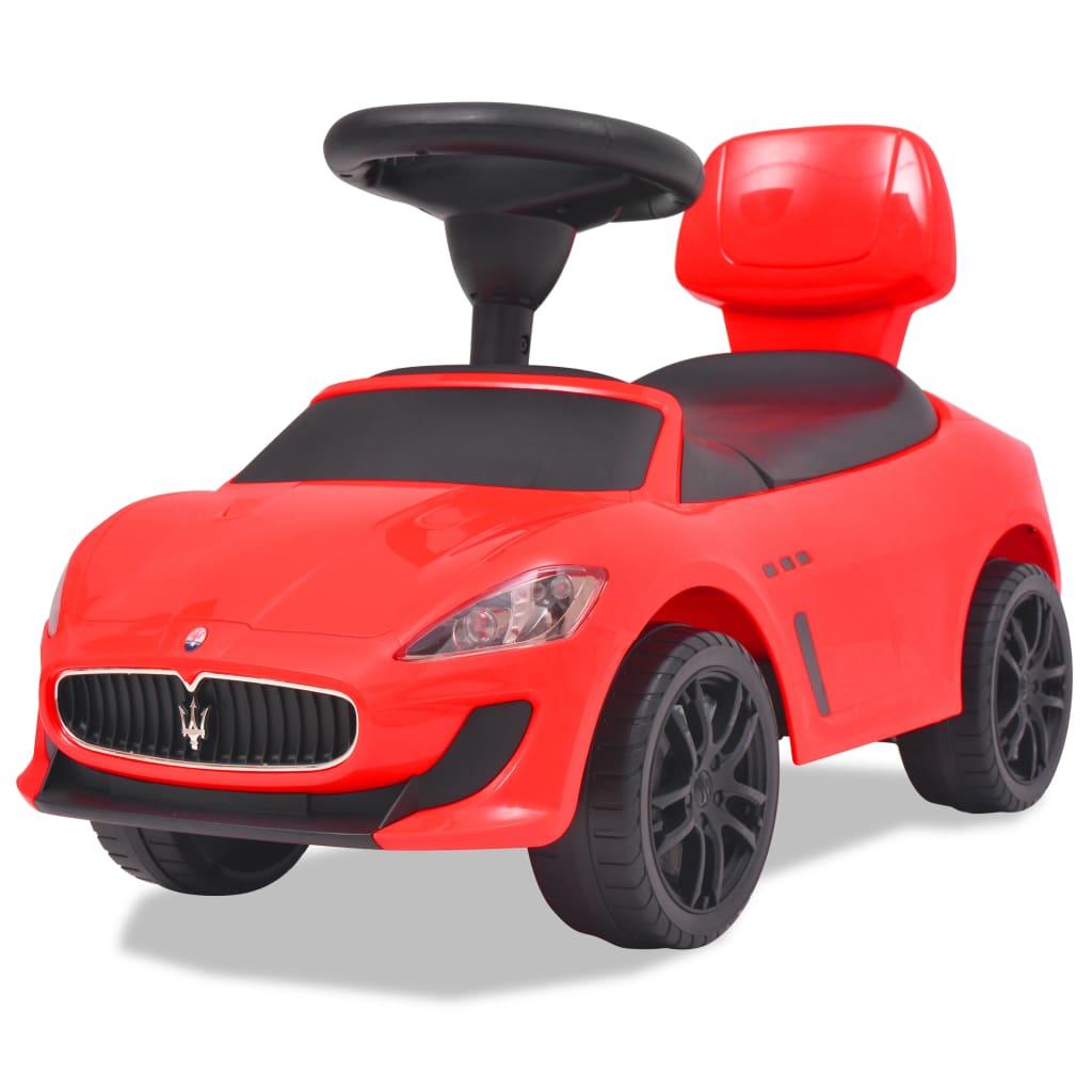 """Šlapací auto """"Maserati 353"""", červené"""