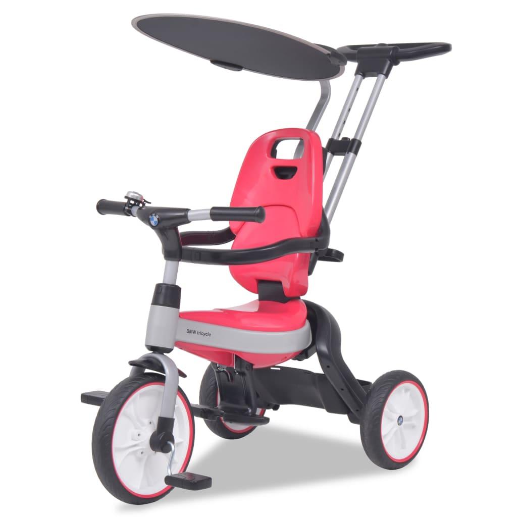 Dětská tříkolka BMW, růžová