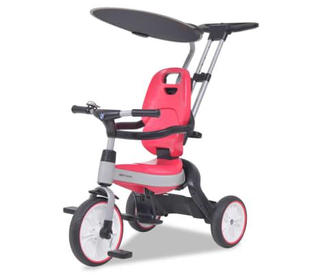 vidaXL Tricicletă pentru copii BMW Roz[1/13]
