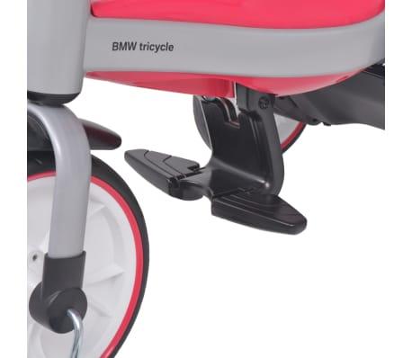vidaXL Tricicletă pentru copii BMW Roz[12/13]