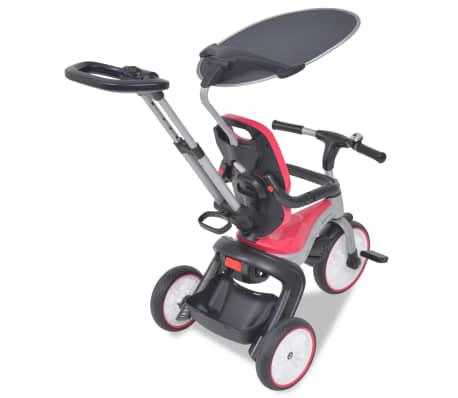 vidaXL Tricicletă pentru copii BMW Roz[4/13]