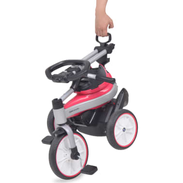 vidaXL Tricicletă pentru copii BMW Roz[2/13]