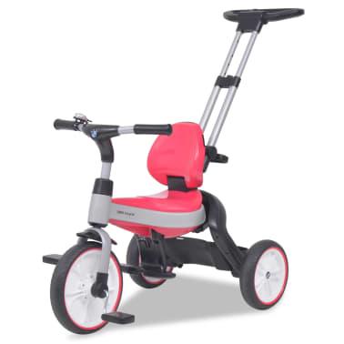 vidaXL Tricicletă pentru copii BMW Roz[5/13]