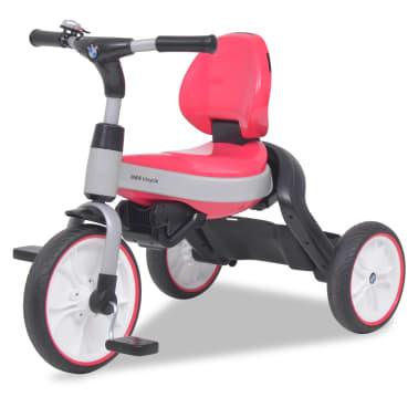 vidaXL Tricicletă pentru copii BMW Roz[7/13]