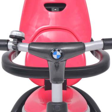 vidaXL Tricicletă pentru copii BMW Roz[8/13]