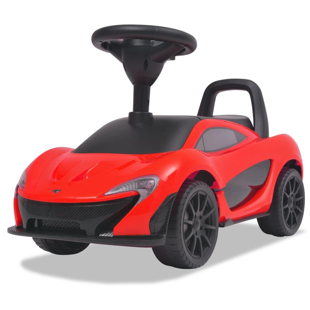 vidaXL Mașinuță fără pedale McLaren P1, roșu poza 2021 vidaXL