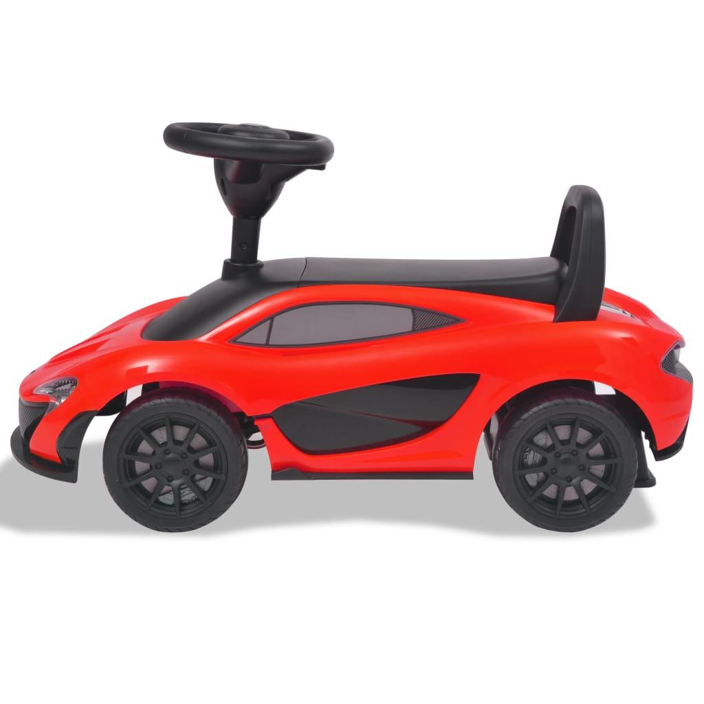 VidaXL Loopauto McLaren P1 rood