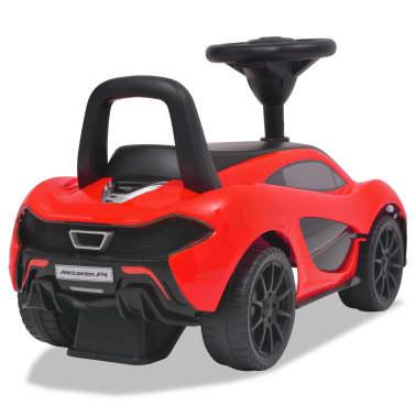 vidaXL Samochód jeździk McLaren P1, czerwony[4/8]