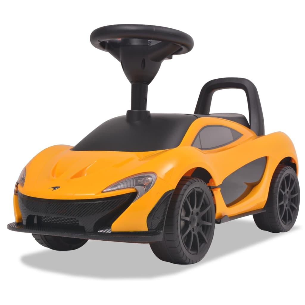 Šlapací auto McLaren P1 žluté